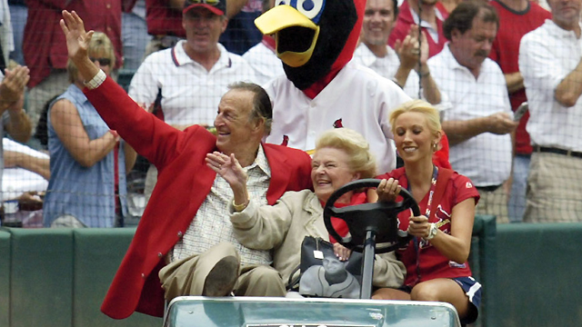 Stan Musial's wife, Lillian, dies at 91