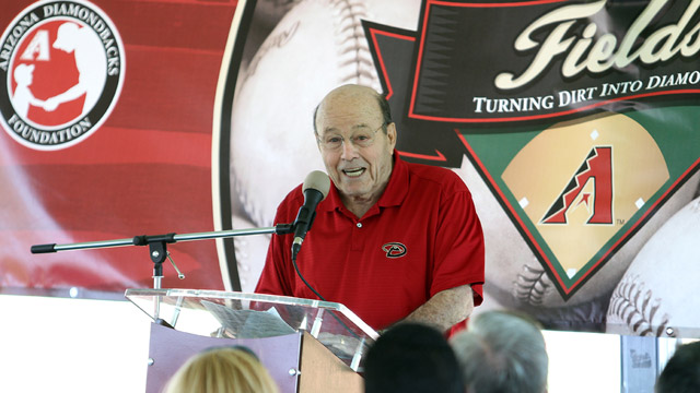 D-Backs dedicate Joe Garagiola Sr. Field