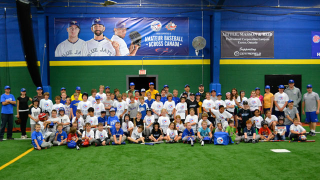 Blue Jays open seasonal Baseball Academy