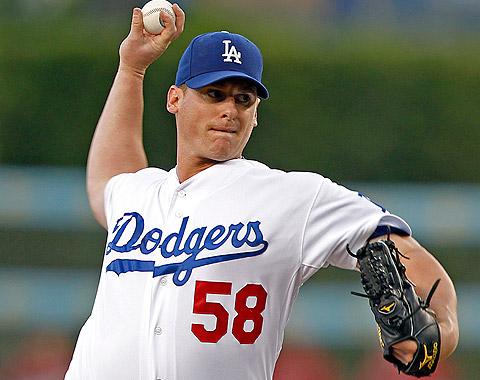 Billingsley a la lista de lesionados de Dodgers