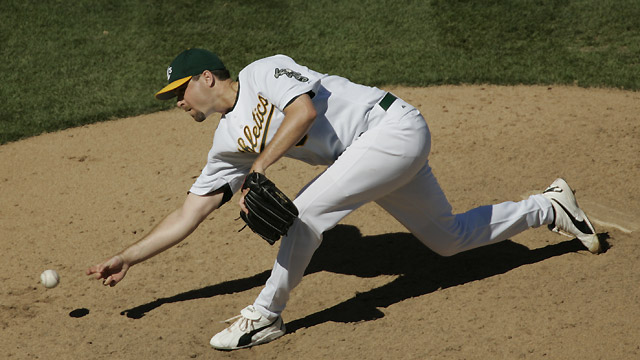 Ex-reliever Bradford to represent A's at Draft