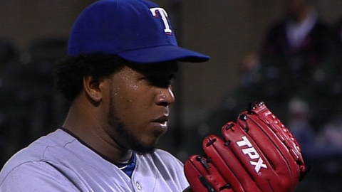 Féliz a la lista de lesionados de Texas