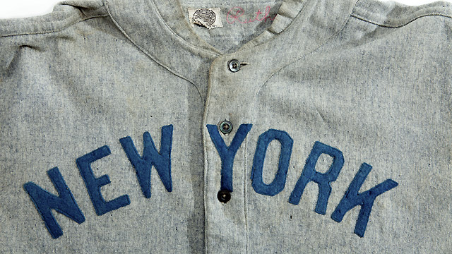 Yanks jersey worn by Ruth sells for record price