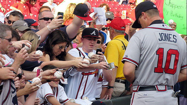 Chipper reflects on career, offers advice to kids