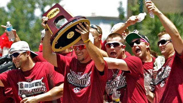 NCAA baseball tourney bracket set