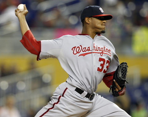 Washington se quedó corto ante Marlins