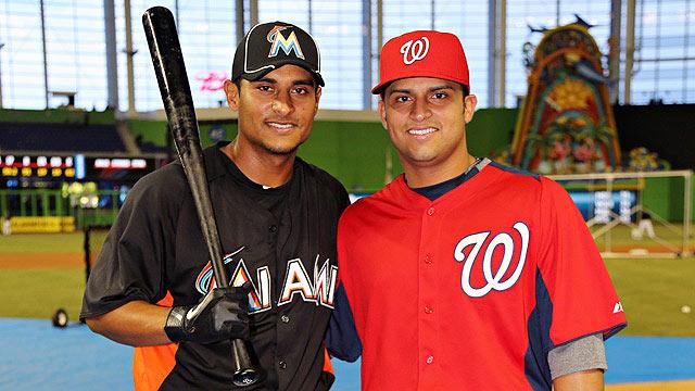 Solano brothers enjoy reunion in Majors