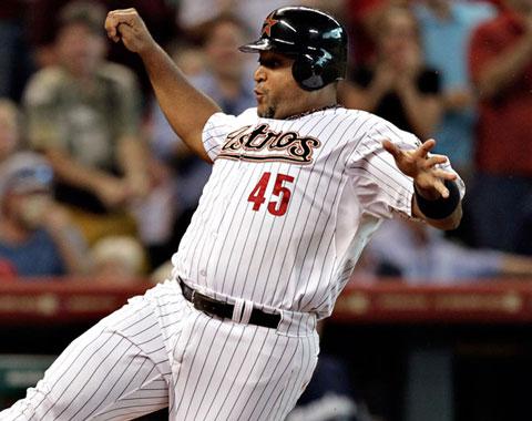 Carlos Lee a la lista de lesionados de Astros