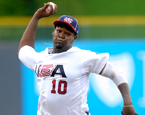 White Sox seleccionan a Courtney Hawkins