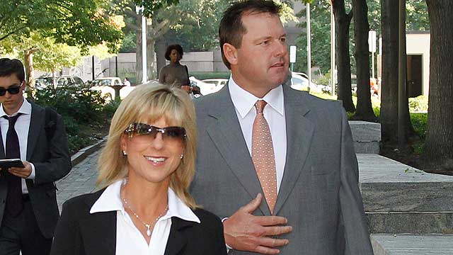 Clemens' wife testifies on HGH, Canseco party