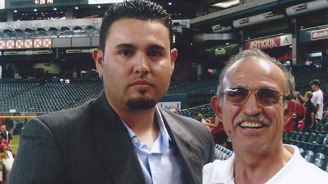 Nolasco's father always a pillar of support