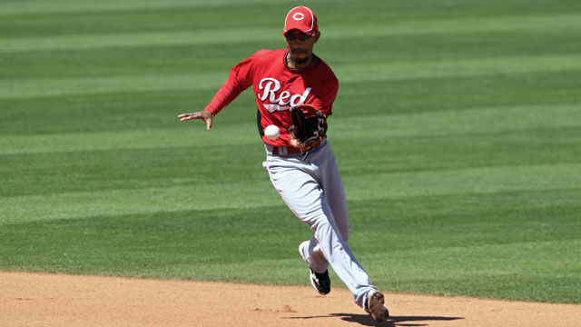 Reds' top prospect Hamilton held up