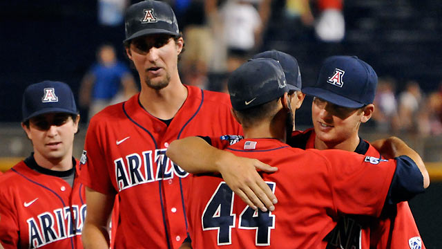Arizona eyes title after win over South Carolina
