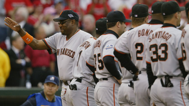 Giants set to honor 2002 NL Championship team