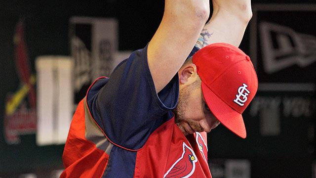 Cards' Carpenter to undergo season-ending surgery