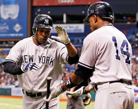Yankees castigados por errores vs. TB