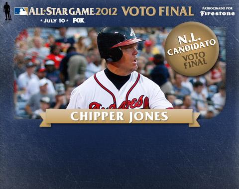 Chipper arriba en el Voto Final de la L.N.