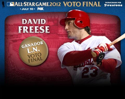 David Freese gana el Voto Final