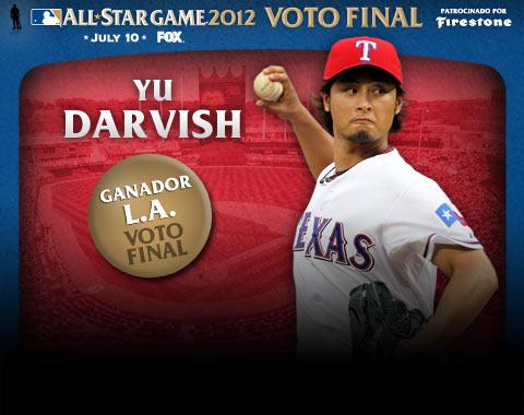 Yu Darvish gana el Voto Final