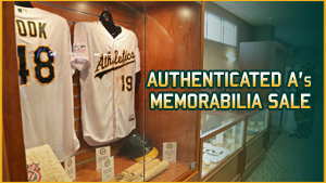A's Authenticated Memorabilia