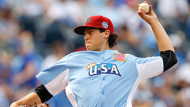 Skaggs, Marte enjoy experience at Futures Game