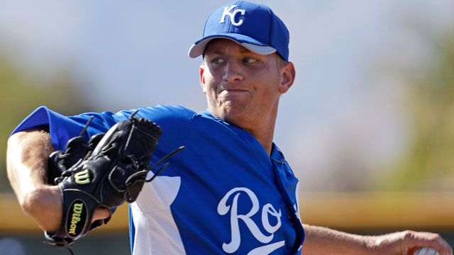Royals demote Montgomery to Double-A
