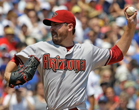 D-backs silenciados por el pitcheo de Dempster