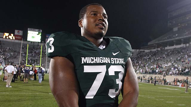 Tigers welcome, honor MSU lineman Ray