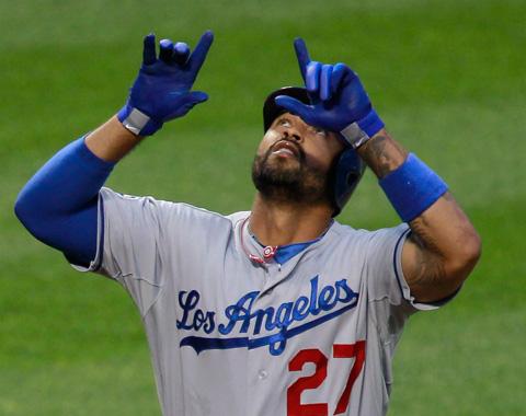 Dodgers atacaron temprano a Santana