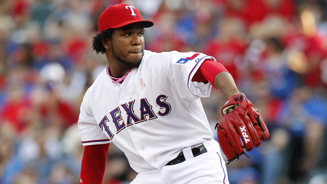 High pitch count costs Feliz full rehab outing