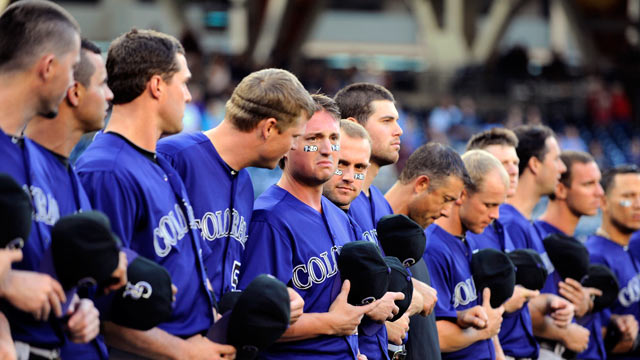 Rockies honor victims of Aurora shooting