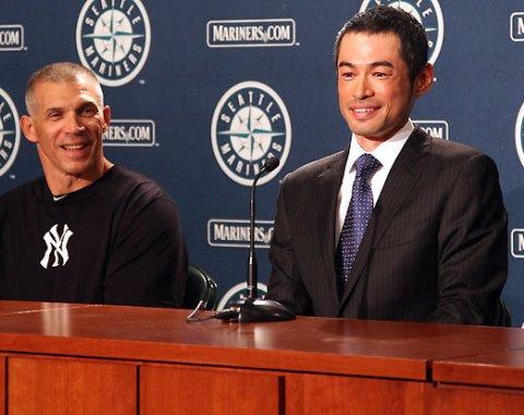 Ichiro pasa de los Marineros a los Yankees