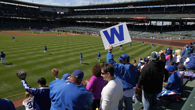 Cubs fans know there's nothing like Wrigley bleachers