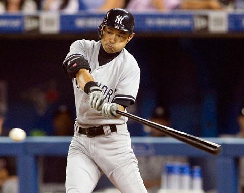 Ichiro impulsa cinco y Yankees apalean