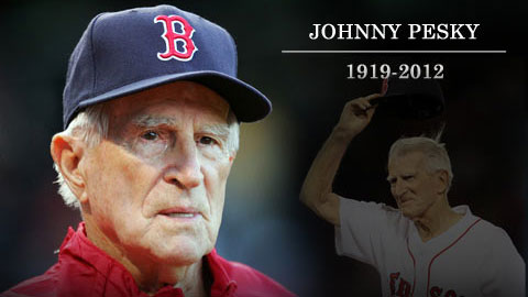 Falleció la leyenda de Boston, Johnny Pesky