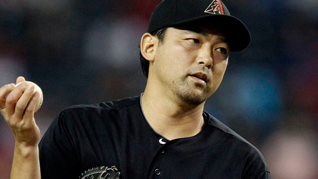 Strained hamstring sends Saito to disabled list