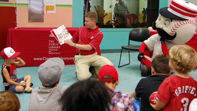 Author brings Reds' history to life in storybook