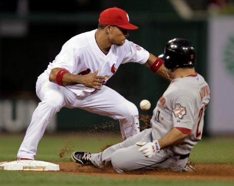 Astros fueron víctimas de Jay, Cardenales