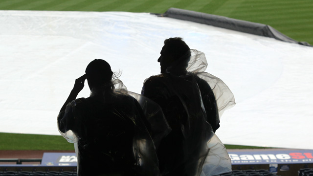 Rain washes out series opener against Twins