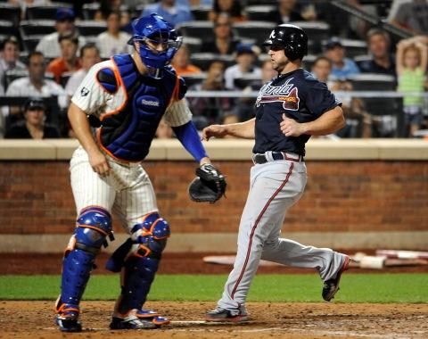 Mets sucubieron ante pitcheo de Bravos