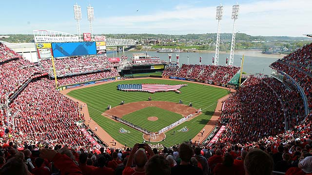 Reds to open 2013 vs. American League's Angels