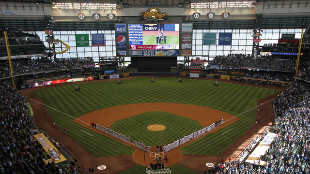 Brewers to make rare trip to Seattle in 2013