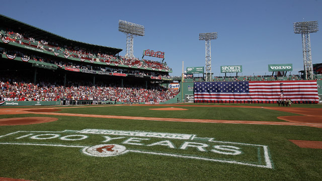 Red Sox to begin 2013 season at Yankee Stadium
