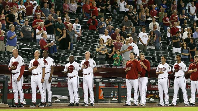 D-backs host Texas in Memorial Day '13 twin bill