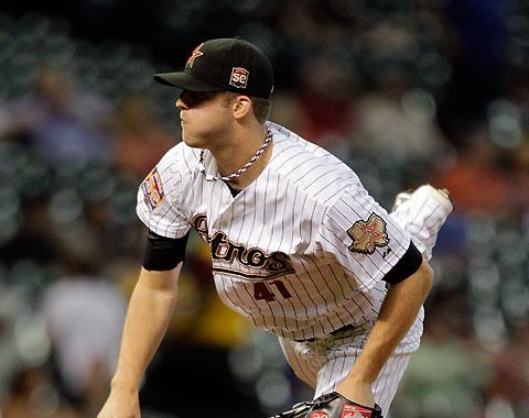 Pitcheo de Astros domina a los Cubs
