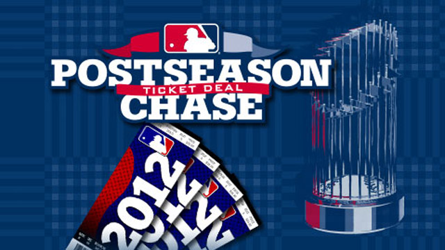 Cut to the Postseason Chase with ticket deals