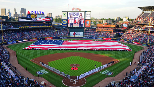 Braves to begin and end '13 season against Phils