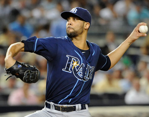 Rays vencen a Yankees con joya de Price