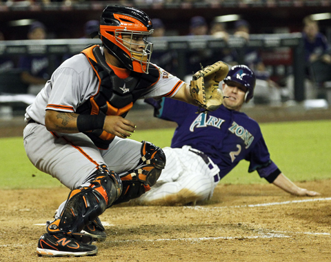 Gigantes superaron por la mínima a D-backs