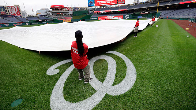 Nats-Dodgers twin bill on tap after Tuesday rainout